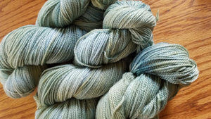 Forest, SPECIAL LISTING, Hand dyed yarn, Sport weight yarn,100 % Merino