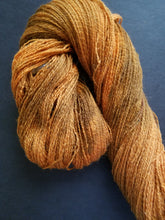 Load image into Gallery viewer, Mahogany, SPECIAL LISTING, Hand dyed yarn, Fingering weight yarn, Merino/ Alpaca