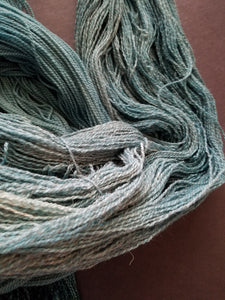 Teal, SPECIAL LISTING, Hand dyed yarn, Fingering weight yarn, Merino/ Alpaca