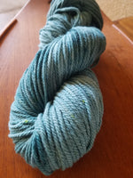 Teal, SPECIAL LISTING, Hand dyed yarn, DK  weight yarn,100 % Merino, Woolies