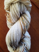 Load image into Gallery viewer, Roasted Marshmallow, SPECIAL LISTING, Hand dyed yarn, DK  weight yarn,100 % Merino, Woolies