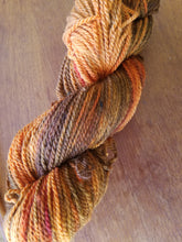 Load image into Gallery viewer, Mahogany, SPECIAL LISTING, Hand dyed yarn, DK  weight yarn,100 % Merino, Woolies