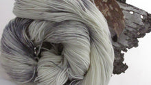 Load image into Gallery viewer, Marble, Hand dyed sock yarn, 75/25 Superwash Merino, Nylon