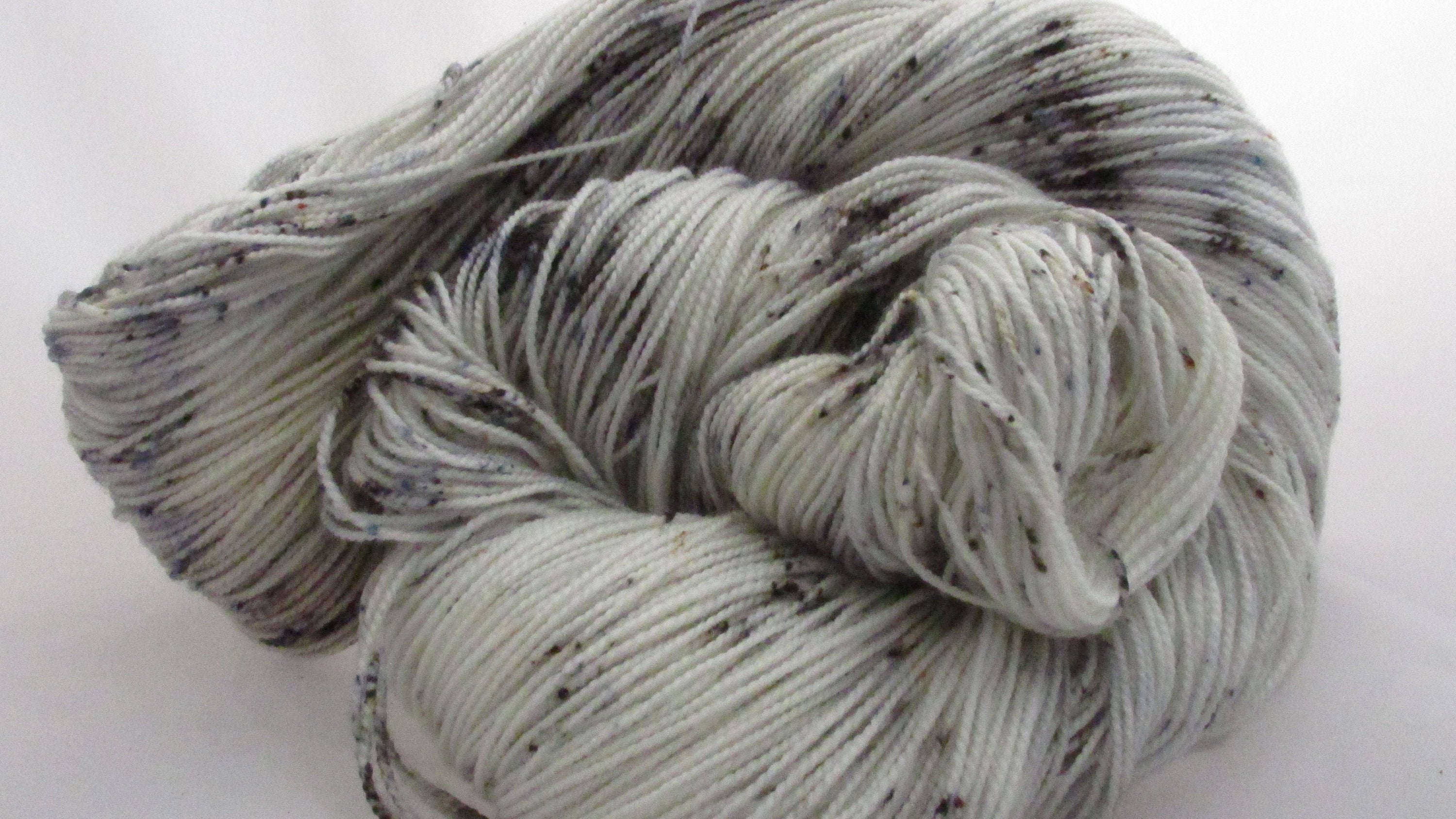 Paperback Writer,   Hand dyed sock yarn,fingering weight yarn, sock yarn, sport weight, dk weight, worsted weight