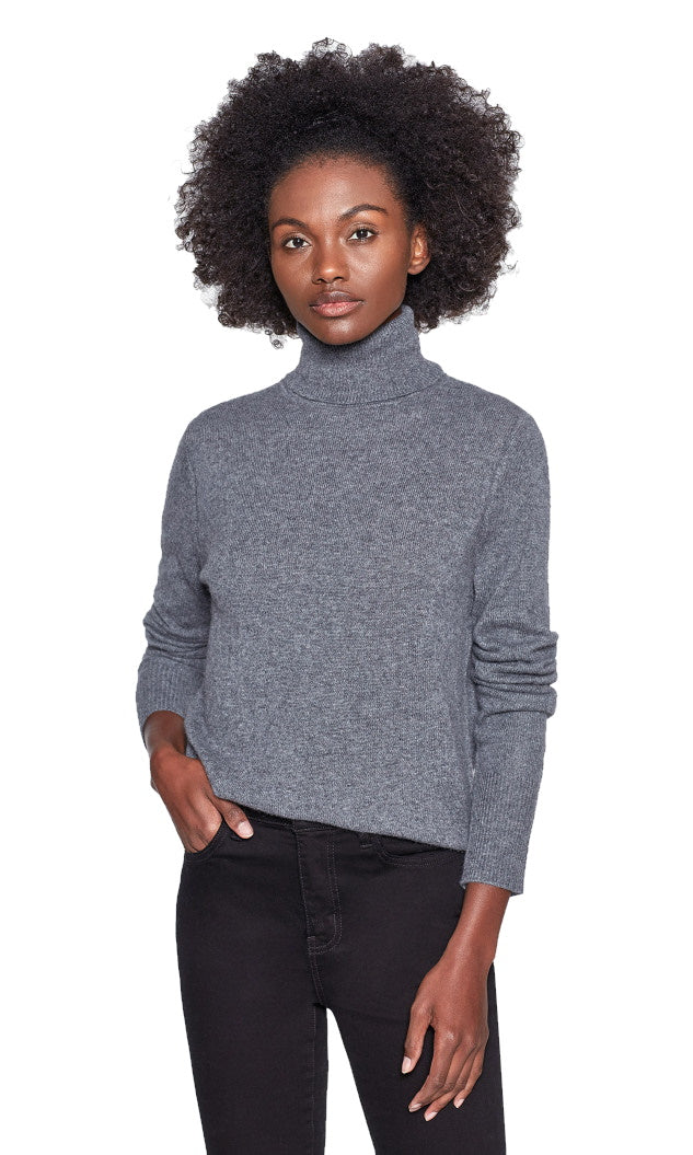 Delafine Cashmere Turtleneck