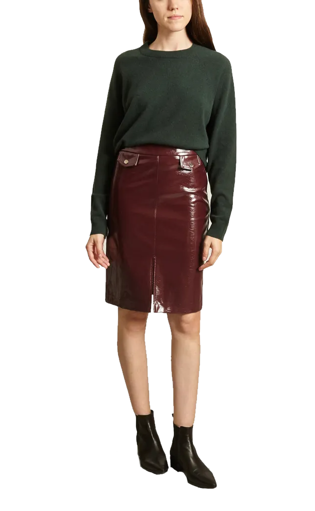 Fanny Skirt - Burgundy