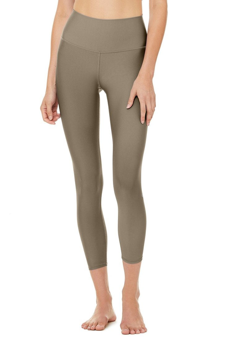 7/8 High-Waist Airlift Legging - Olive Branch