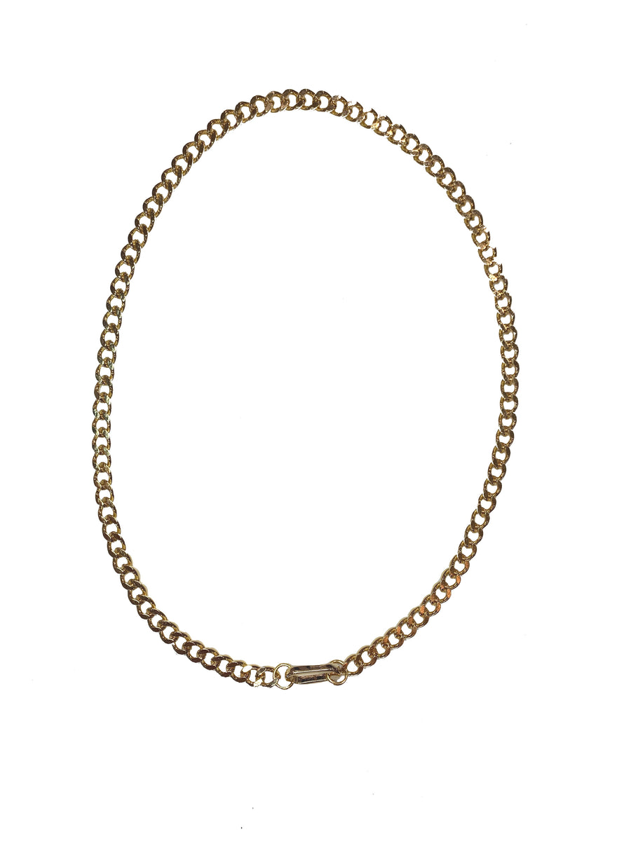Carabiner Necklace - Gold