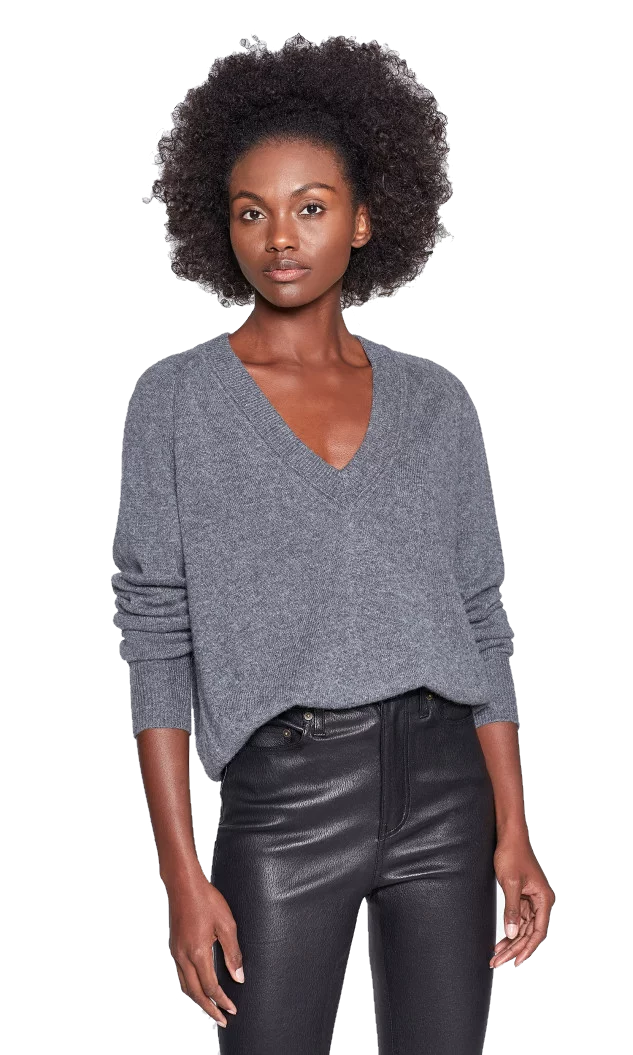 Madalene V-Neck Cashmere Sweater