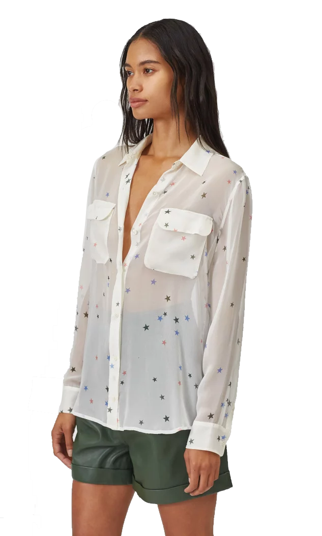 Signature Silk Shirt - Multi Star