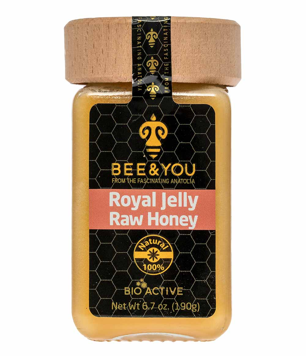 Royal Jelly & Raw Honey