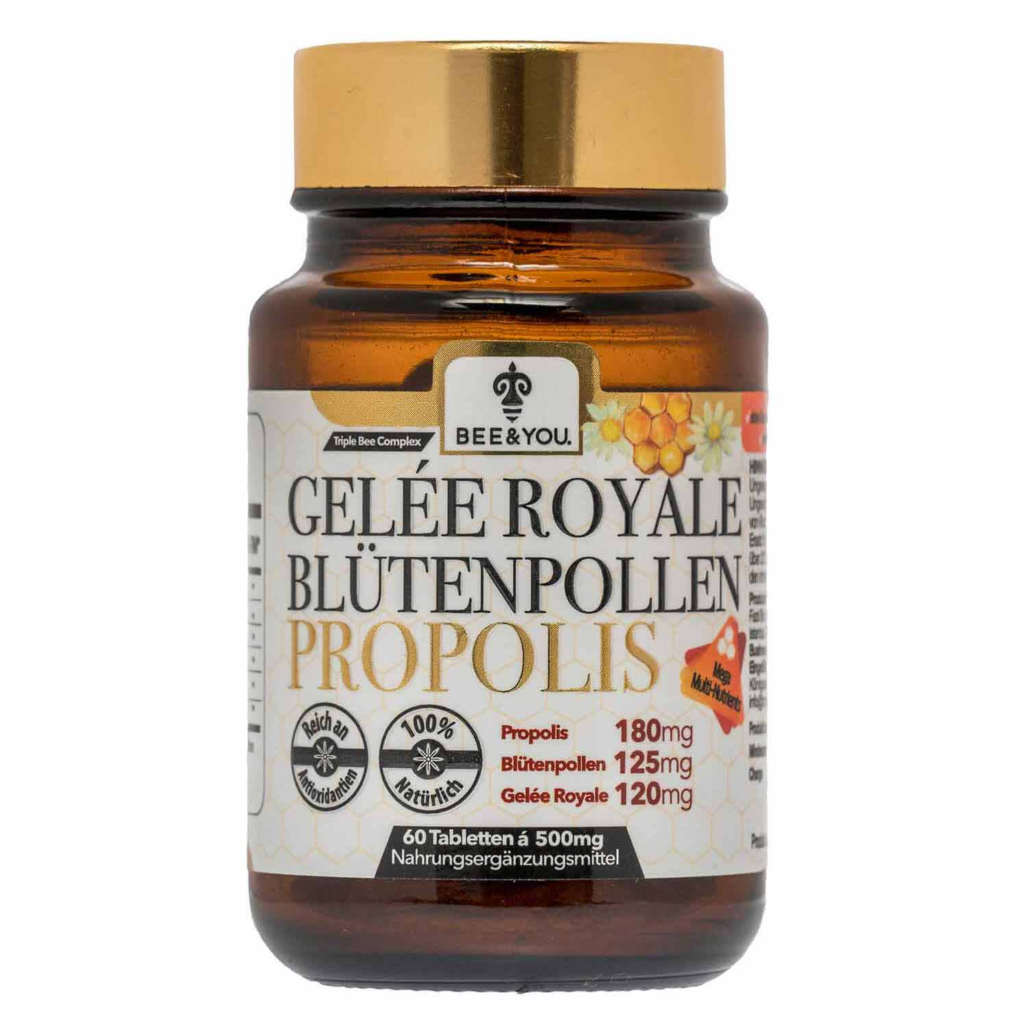 Royal Jelly Bee Pollen Propolis Tablets (Tablets)
