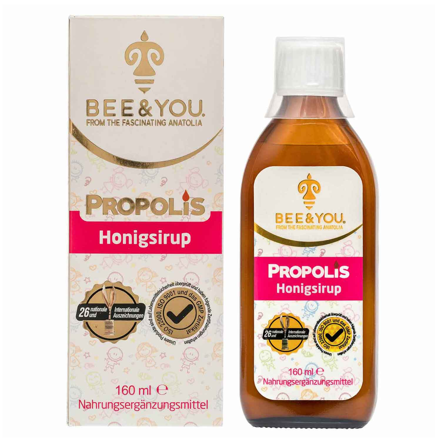 Propolis Raw Honey Syrup - (150 ml)