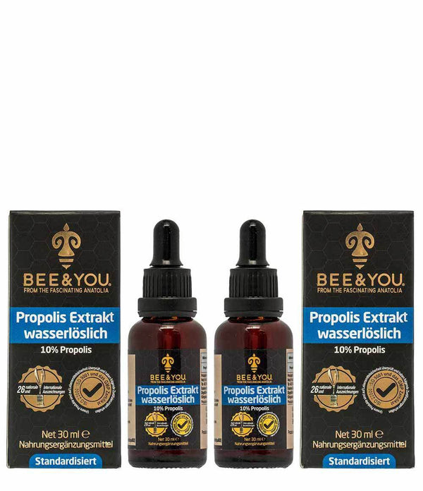 Propolis Extract Tincture Water Soluble 10% x 2