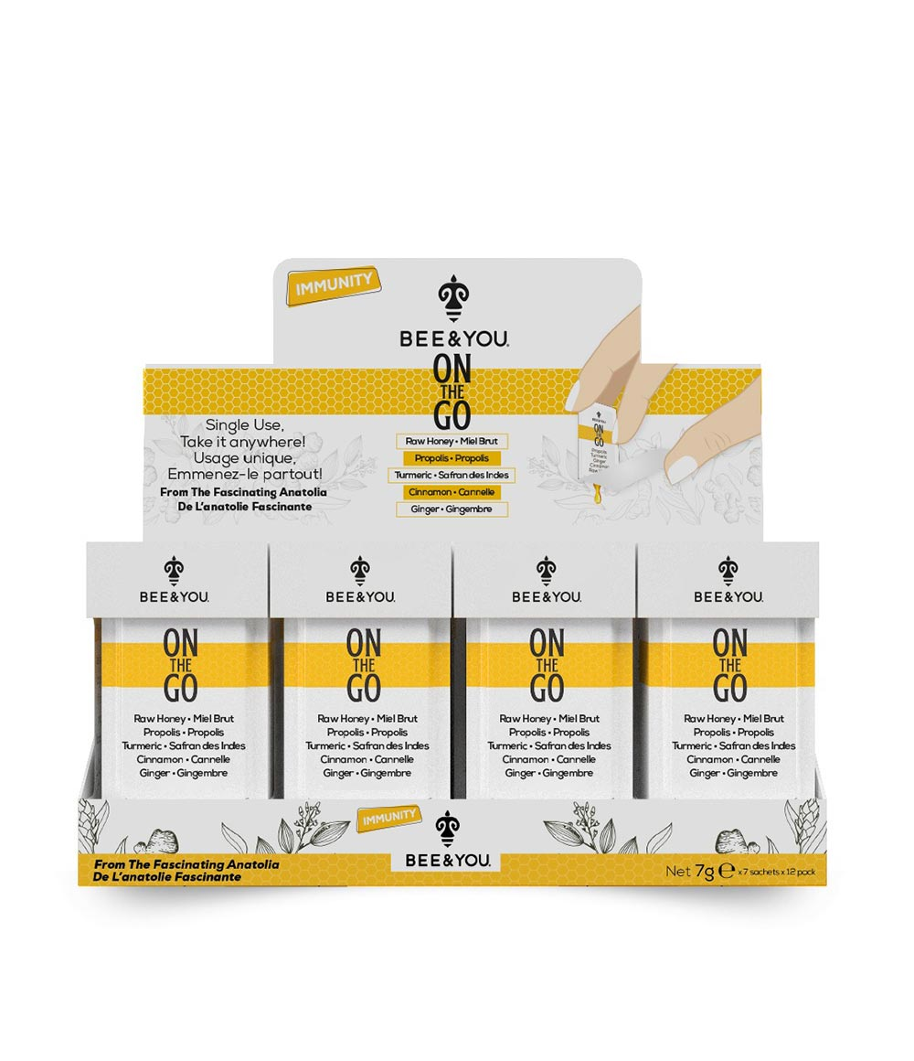 Propolis On the Go Turmeric (with cinnamon) - Box (12 pieces)