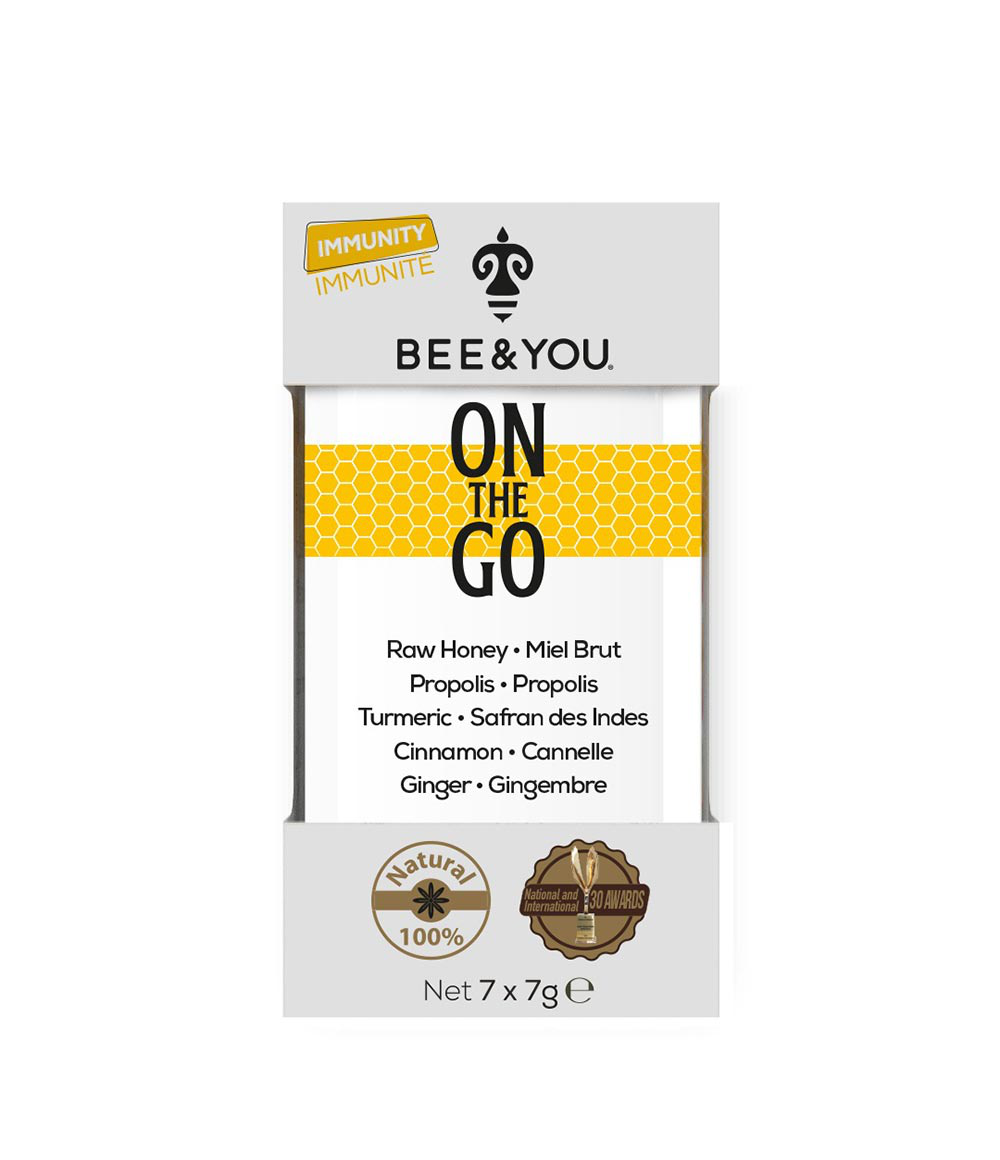Propolis On The Go Turmeric (with cinnamon)