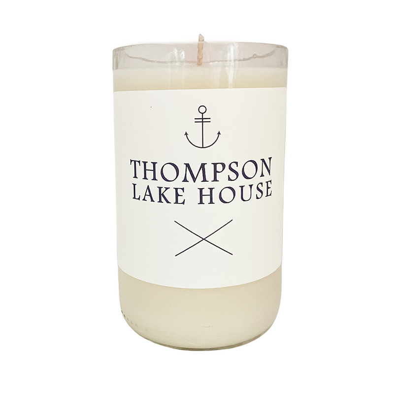Personalized Lake House - Soy Candle