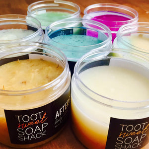 Beeswax Sugar Scrubs