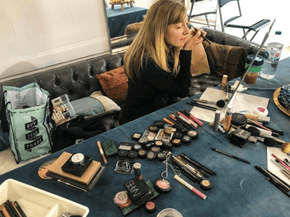 Private makeup lesson with Adrienne