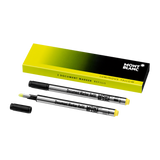 2 Document Marker Refills Luminous Yellow