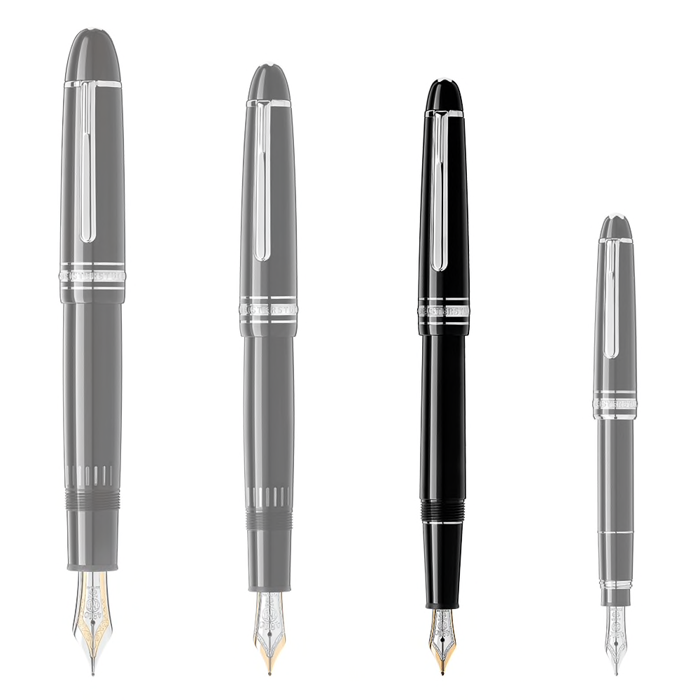 Meisterstück Platinum-Coated Classique Fountain Pen