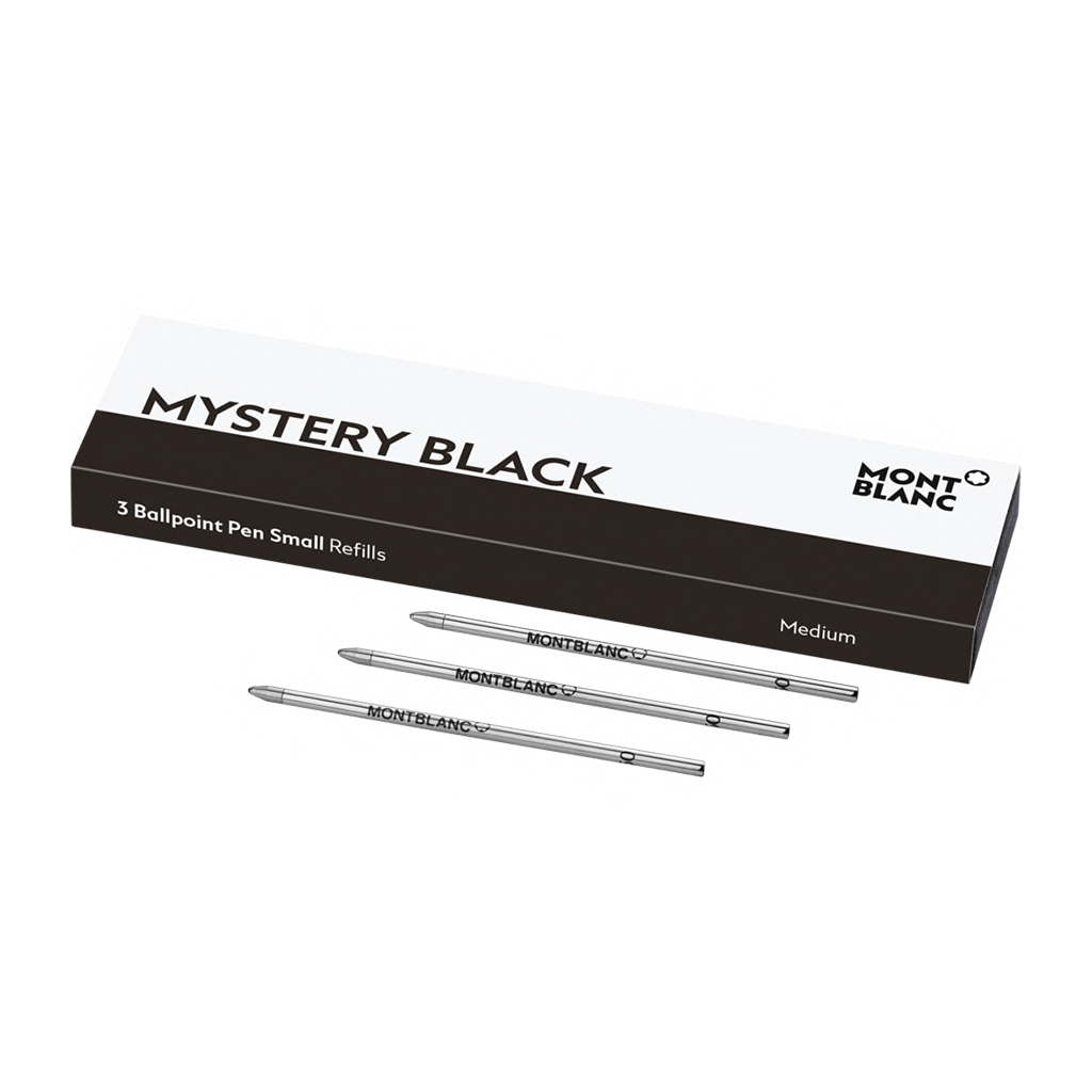 3 Ballpoint Pen Small Mystery Black