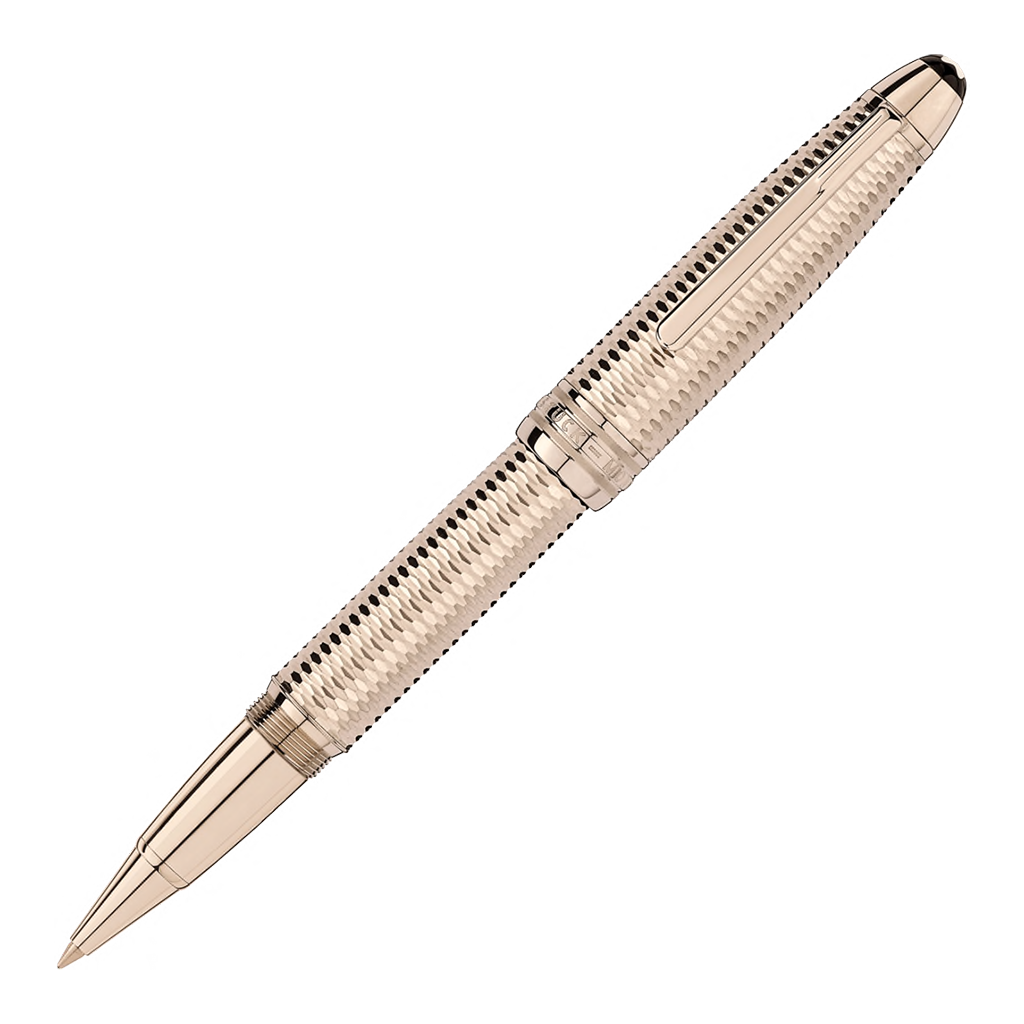Meisterstück Geometry Solitaire Champagne Gold LeGrand Rollerball