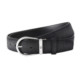 Grey cut-to-size casual belt