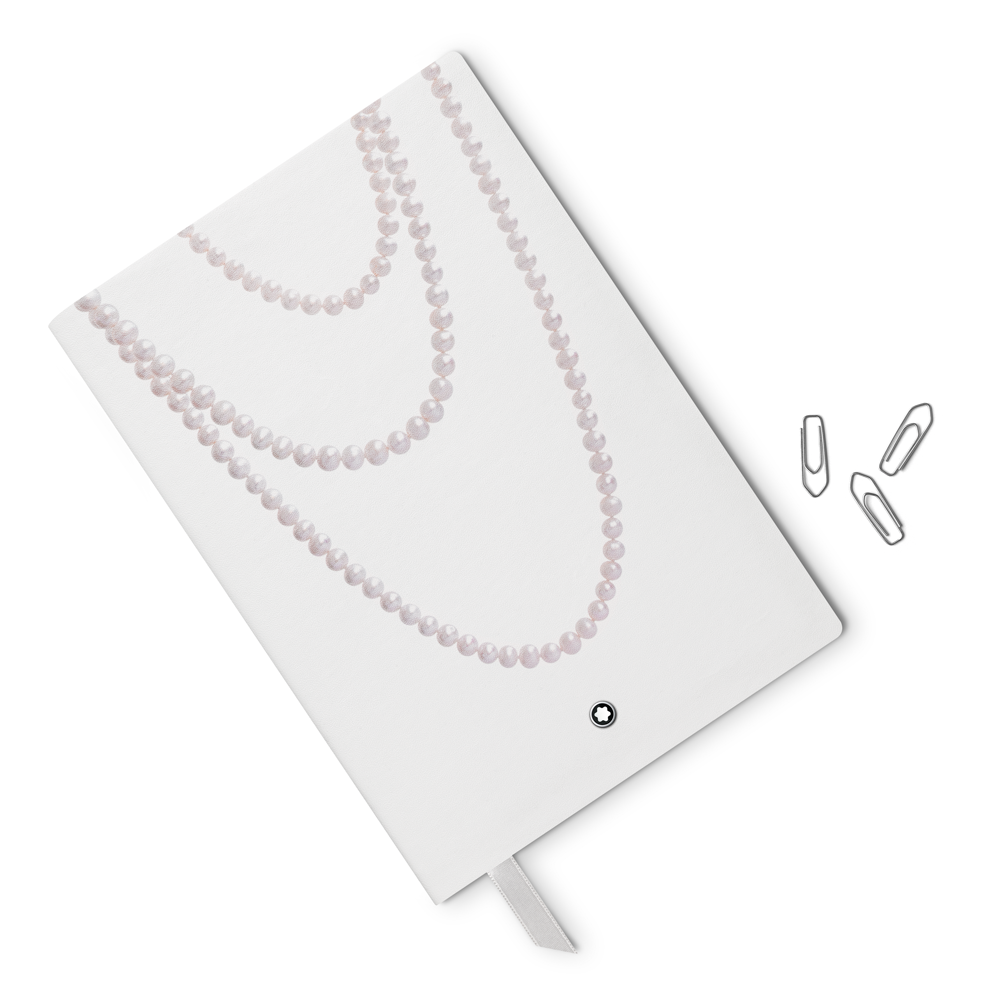 Notebook #146 Ladies Edition Pearl White
