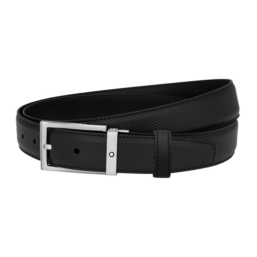 Black cut-to-size business belt