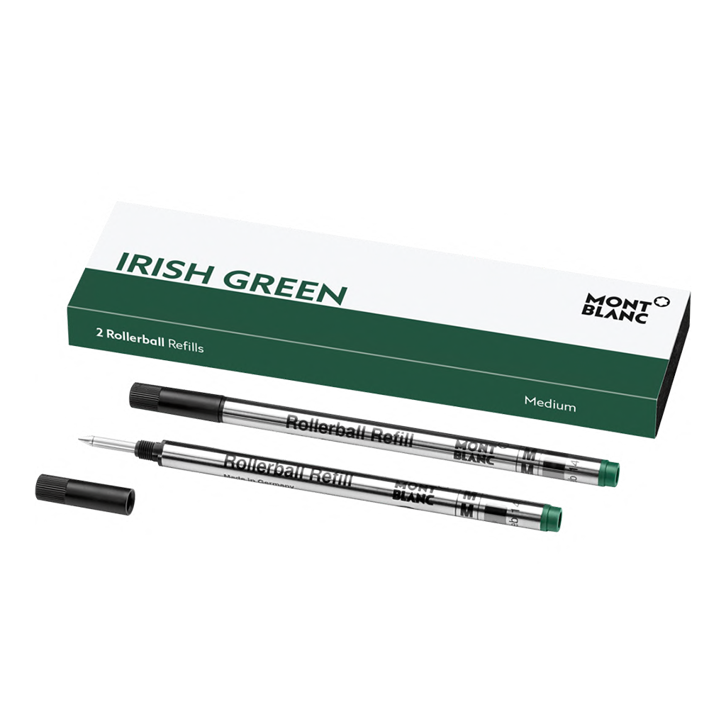 2 Rollerball Refills (M), Irish Green