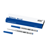 2 Ballpoint Pen Refills (M) Royal Blue
