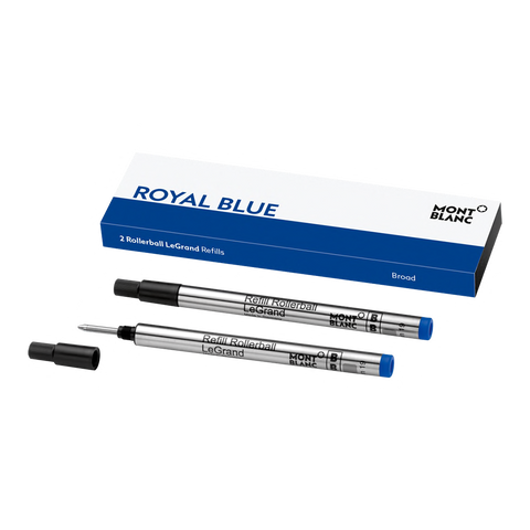 2 Rollerball LeGrand Refills (B), Royal Blue