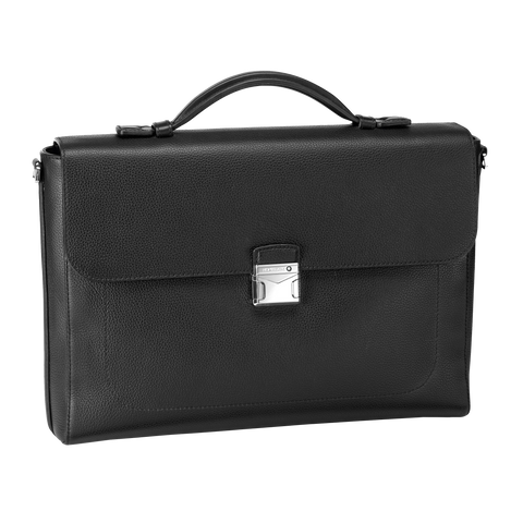 Meisterstück Soft Grain Single Gusset Briefcase