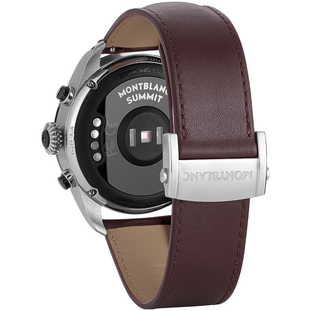 Summit 2 Bicolor Steel and Leather