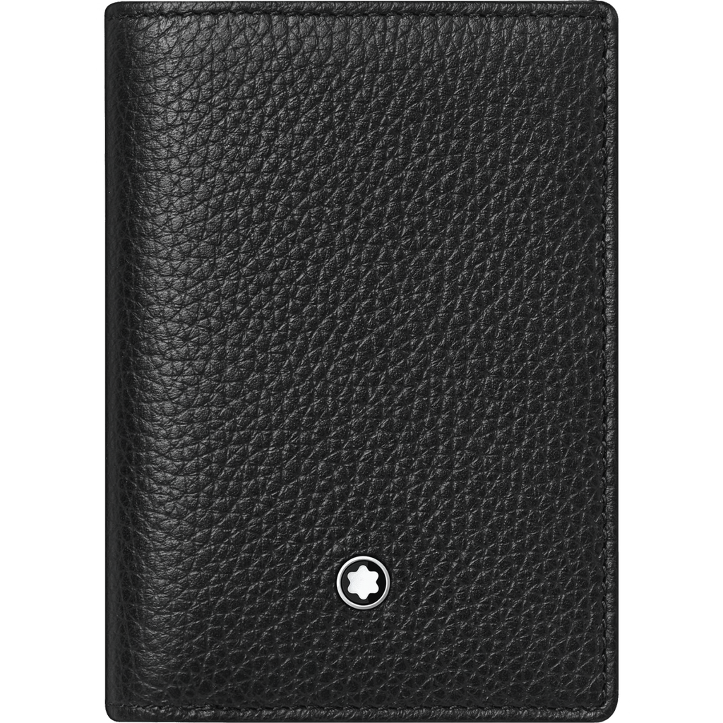 Meisterstück Soft Grain Wallet Business Card Holder with Bill Compartment