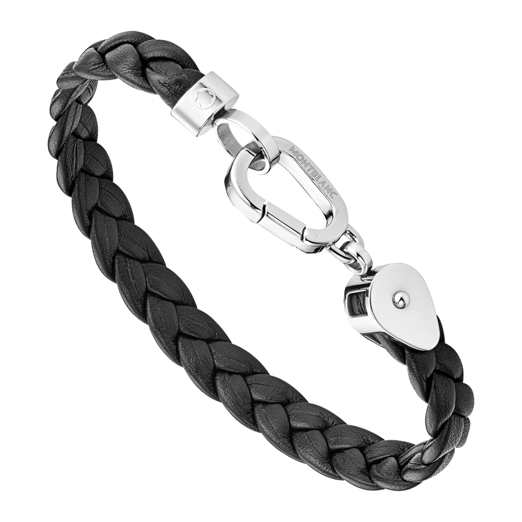 Wrap Me Bracelet Braided Leather