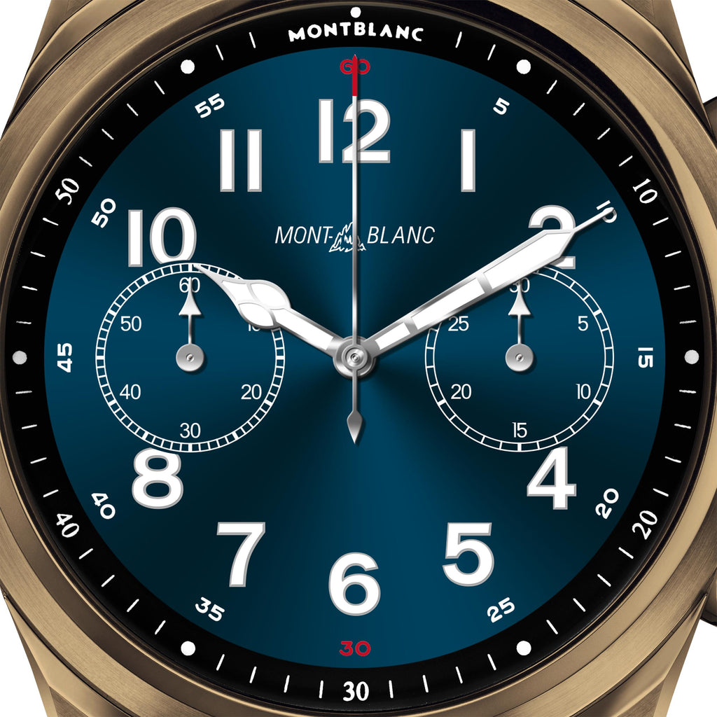 Montblanc Summit 2+ Stainless Steel Bronze Colour and Leather