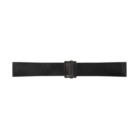 Summit 2+ Black Rubber Strap