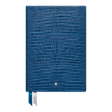 Notebook #146 Lizard Print, Federal Blue