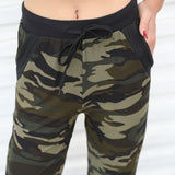 Camouflage women sweatpants - Military-Equipment-Shop