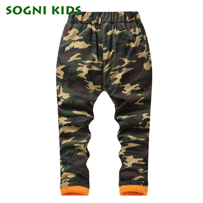 Camouflage Winter Jeans - Military-Equipment-Shop