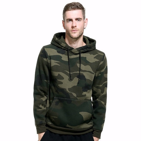 Camouflage Hooded Sweater - Military-Equipment-Shop