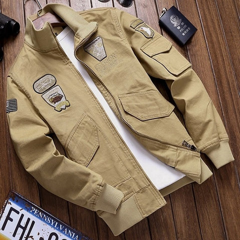 Military Pilot Jacket - Military-Equipment-Shop