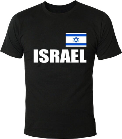 Flaggeprint T-Shirt Israel - Military-Equipment-Shop