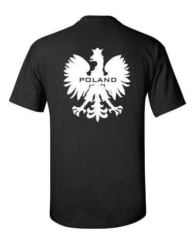 Printed Black or Red T-Shirt Poland - Military-Equipment-Shop