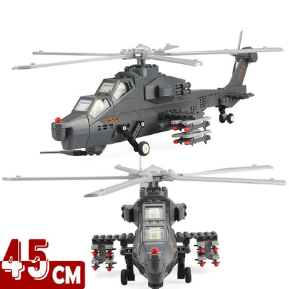 Building Block WZ-10 Helicopter - Military-Equipment-Shop