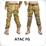 MEGE KNIGHT ATAC FG Camouflage Tactical Military Pants - Military-Equipment-Shop