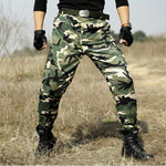 Tactical military camouflage cargo pants - Military-Equipment-Shop