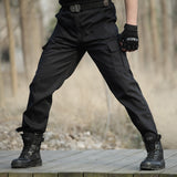Tactical military black pants - Military-Equipment-Shop